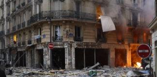 Explosion rue de Trévise