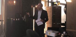 Luis Godinho, président de l'Unsaf