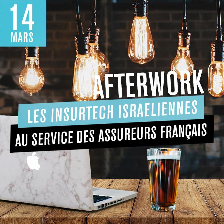 Afterwork : Les Insurtech israëliennes au service des assureurs Français