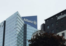 Le siege d'allianz a la defense