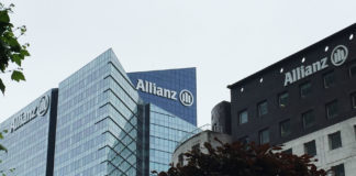 Le siege d'Allianz à la Défense