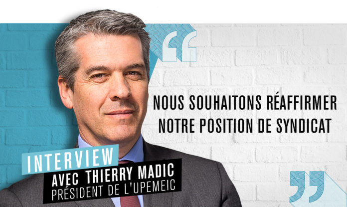 Thierry Madic, président de l'Upemeic