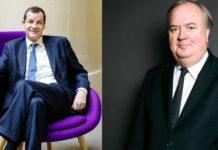 Thierry Derez, PDG de Covéa et Denis Kessler, PDG de Scor