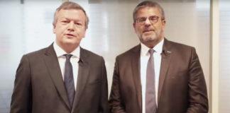 Bertrand de Surmont et Laurent Ouazana