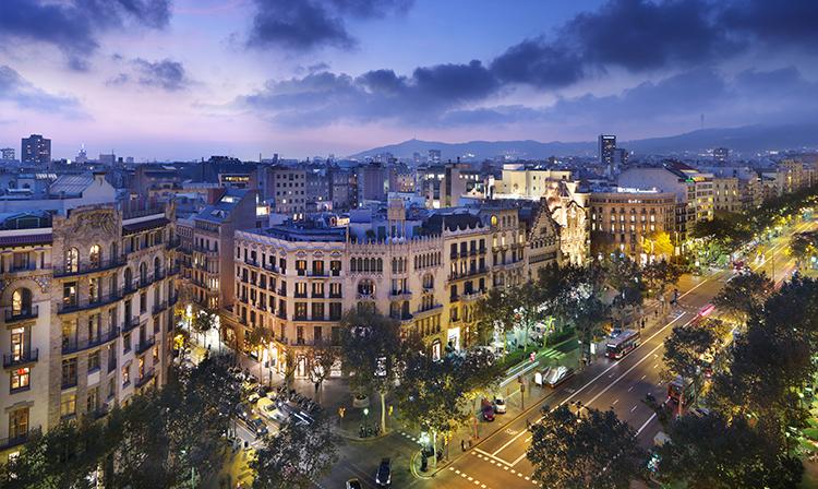 Passeig de Gràcia au Mandarin Oriental Barcelona