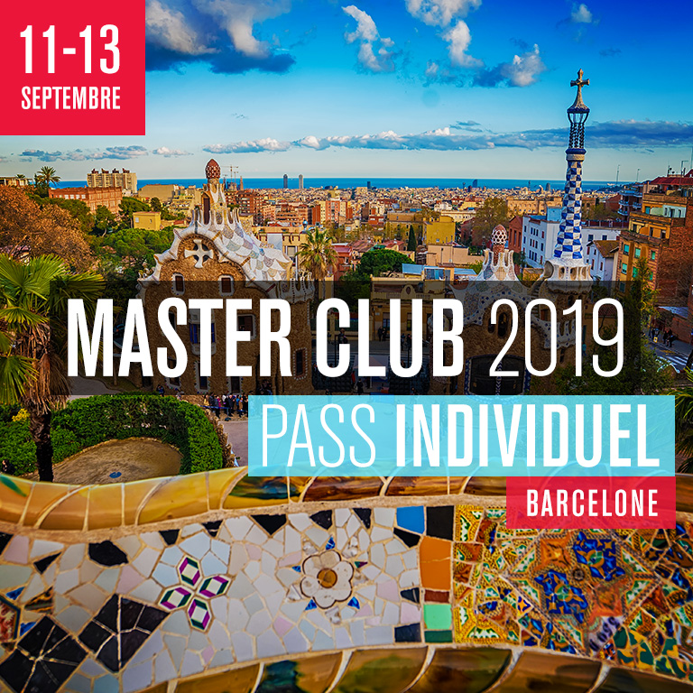 MASTER CLUB 2019 - Pass Individuel