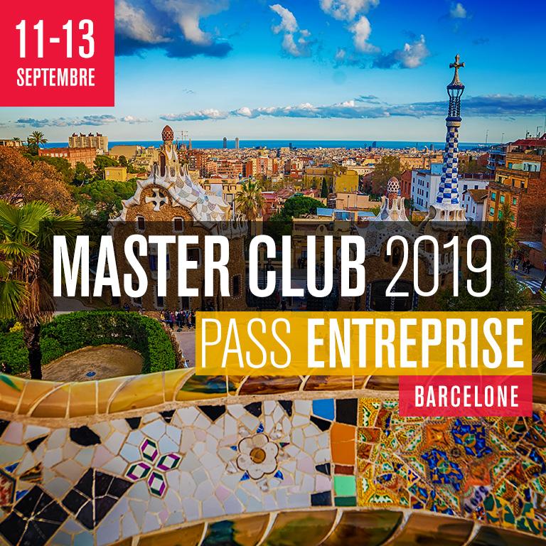 MASTER CLUB 2019 - Pass Entreprise