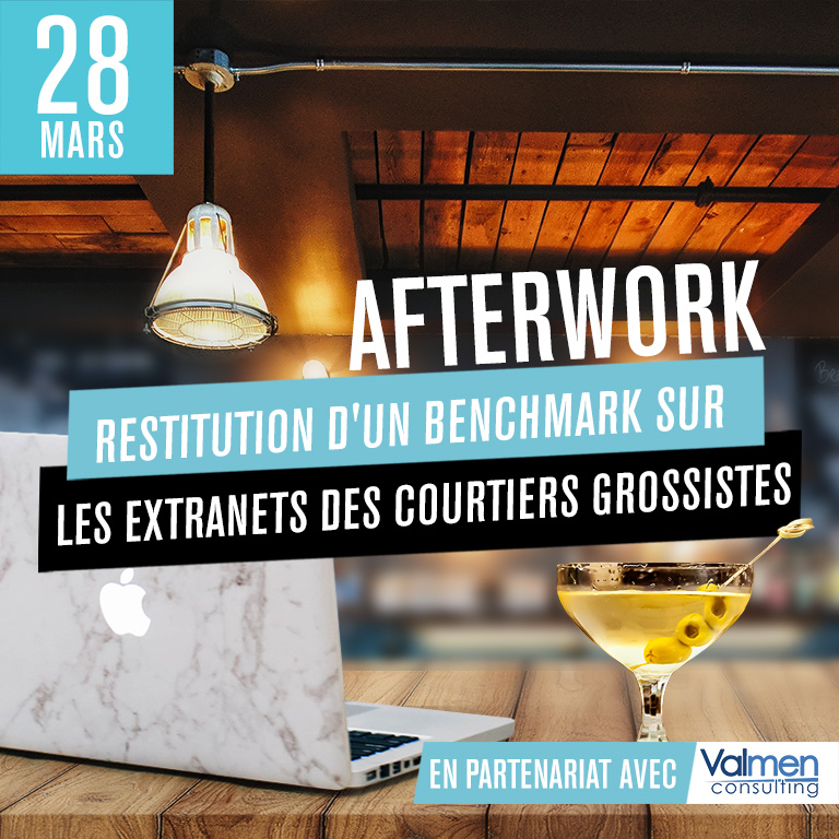 Afterwork : Restitution d'un benchmark sur les extranets des courtiers grossistes