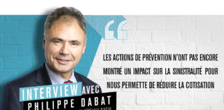 Philippe Dabat, directeur des assurances de personnes d'AG2R La Mondiale Matmut