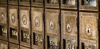 Des coffres-fort dans une banque