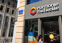 Une agence Harmonie Mutuelle