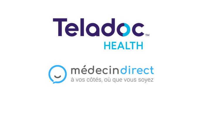 Teladoc Health achète MédecinDirect
