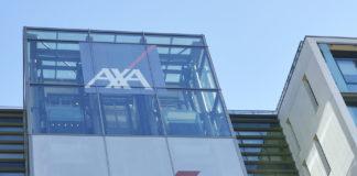 Les locaux d'Axa a Nanterre
