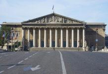 Front de l'Assemblée nationale
