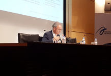 Bernard Spitz, président de la FFA en 2018