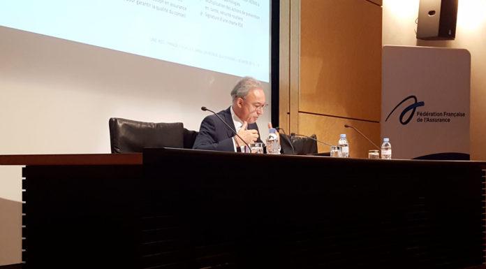 Bernard Spitz, président de la FFA