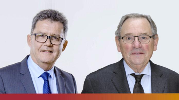 Alain Gautron et Jean de Rusquec