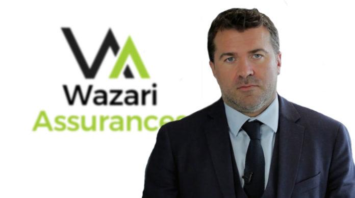 Herve Massie, CEO de Wazari Assurances