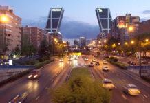 Paseo de la Castellana à Madrid