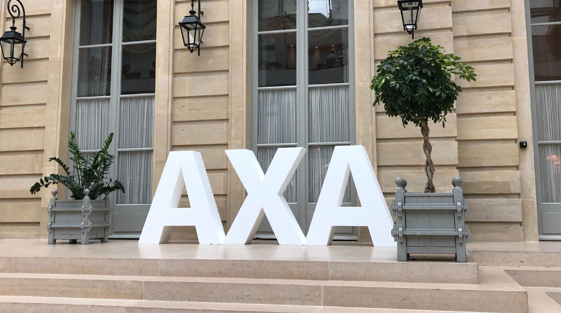 Axa et le géant de l'informatique Microsoft ont annoncé mercredi une collaboration pour créer