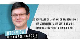 Pierre François, directeur général de Swiss Life Prévoyance et Santé