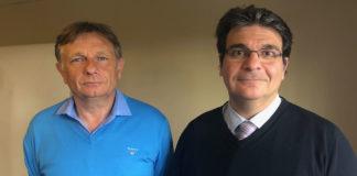 Michel Regnier, président de la MGAS et Laurent Azoulay, directeur général