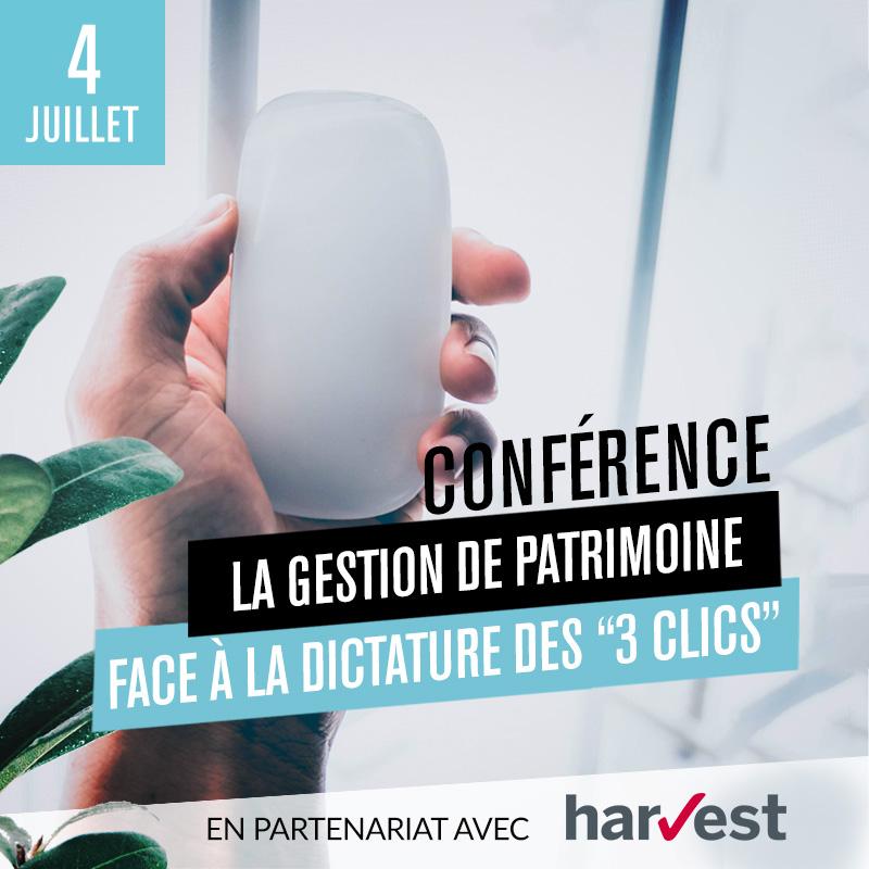 Conférence : La Gestion de Patrimoine face à la dictature des « 3 clics »