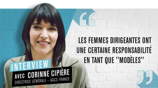 Corinne Cipière : « Les femmes dirigeantes ont une certaine responsabilité en tant que 'modèles' »