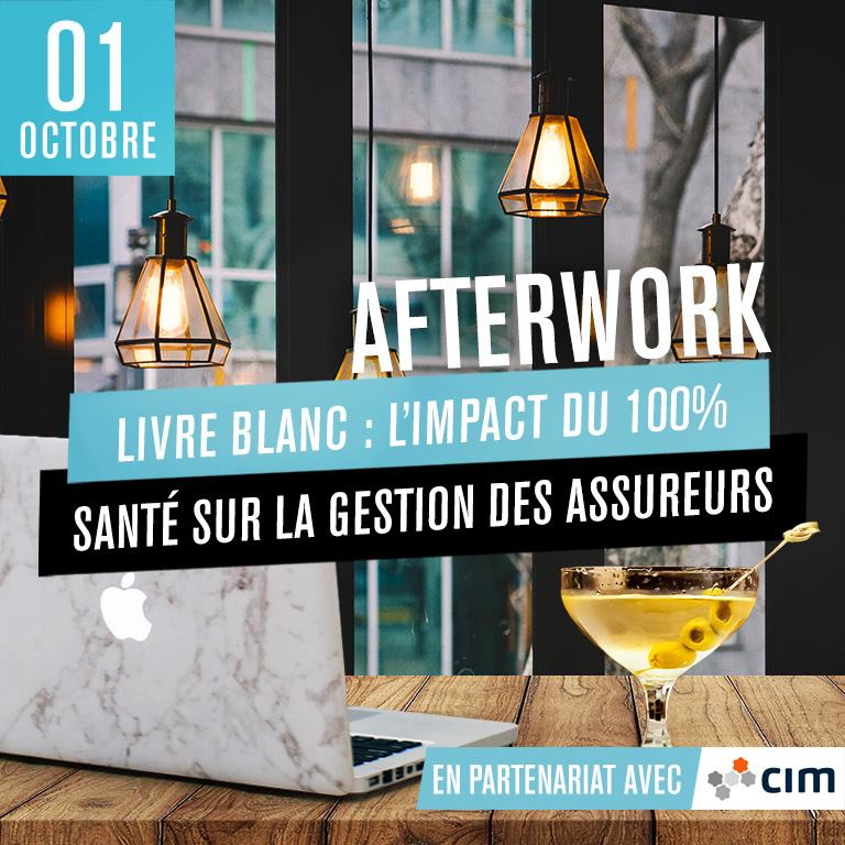 Afterwork Livre blanc : L'impact du 100% santé sur la gestion des assureurs