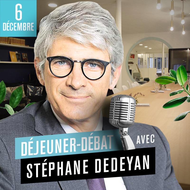 Déjeuner Débat avec Stéphane Dedeyan, directeur général délégué du groupe VYV