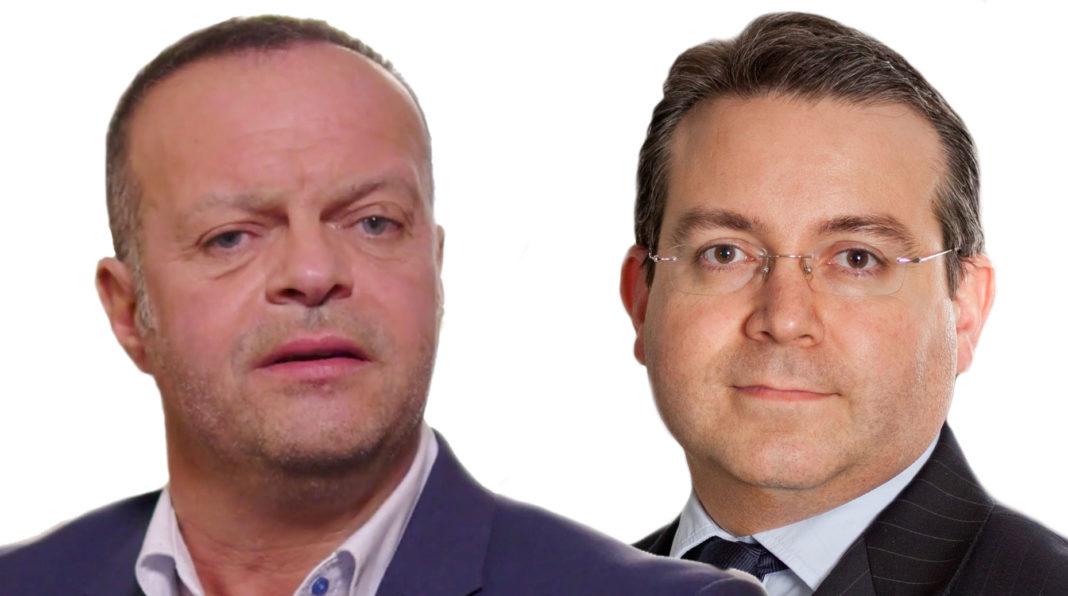 Christophe Caille et Franck Le Vallois