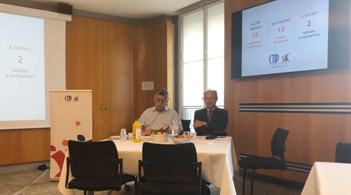 Jean-Paul Lacam et Bertrand Boivin-Champeaux du CTIP