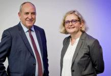 Roldand Berthilier et Isabelle Hébert, dirigeants du groupe MGEN