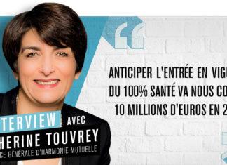 Catherine Touvrey, directrice générale d'Harmonie Mutuelle