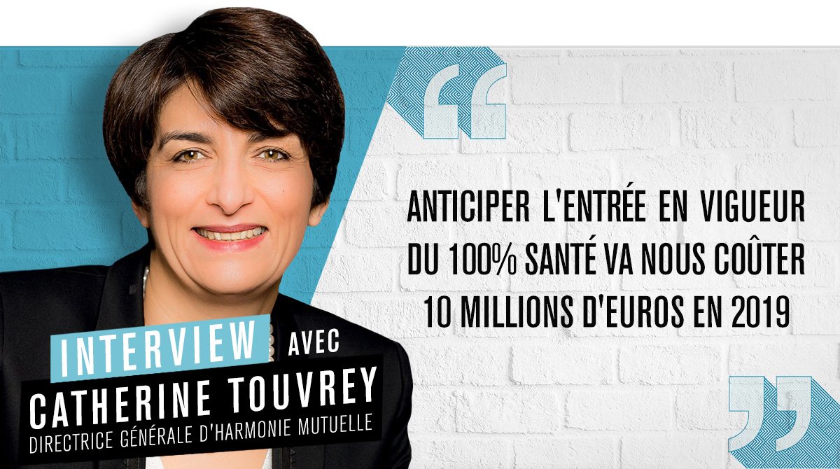 Harmonie Mutuelle : Catherine Touvrey détaille sa stratégie de « multi-protection »