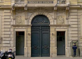 Façade de la Banque de France