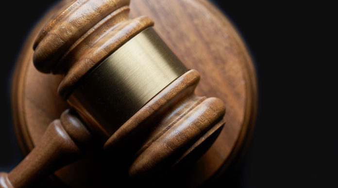 la marteau de la justice