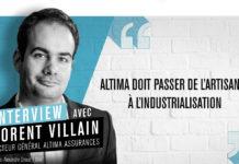 Florent Villain, directeur général d'Altima Assurances