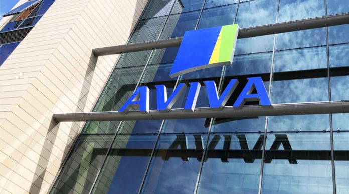 Le siège d'Aviva France
