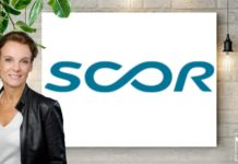 Annette Rey, directrice de la communication de Scor