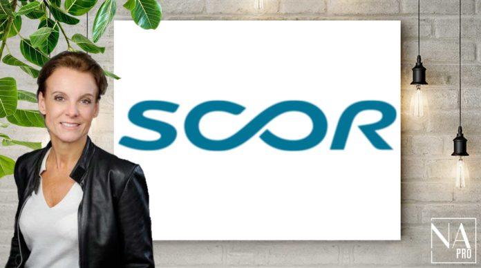Annette Rey, directrice de la communication de Scor