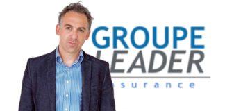 Yoann Chery, PDG du groupe Leader Insurance