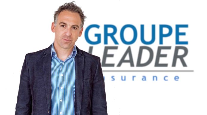 Yoann Chery, PDG du groupe Leader Insurance