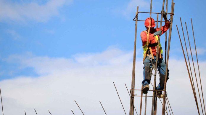 Salarié sur un chantier