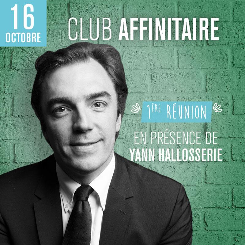 Club Affinitaire - 1ère réunion