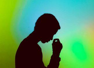Une personne stressée