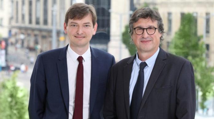 Adrien Couret, directeur général du groupe Macif et Jean-Philippe Dogneton, directeur général délégué