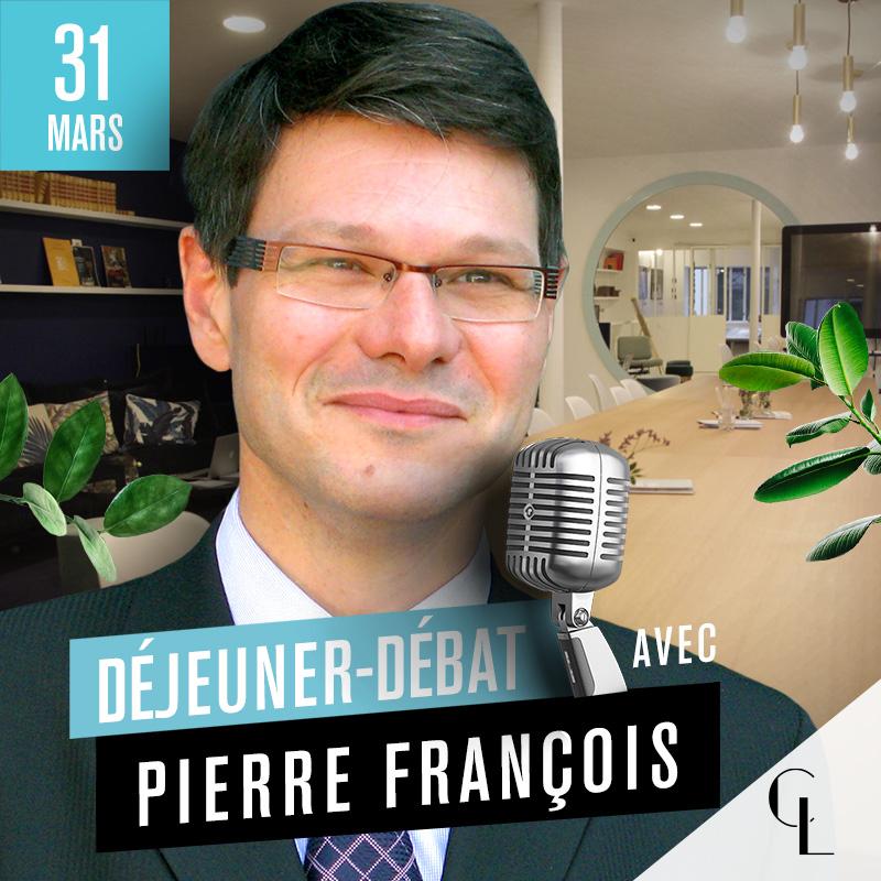Déjeuner Débat avec Pierre François, directeur général de SwissLife Prévoyance et Santé et président de la commission assurance de personnes de la FFA