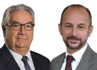 Maurice Ronat et Thierry Beaudet