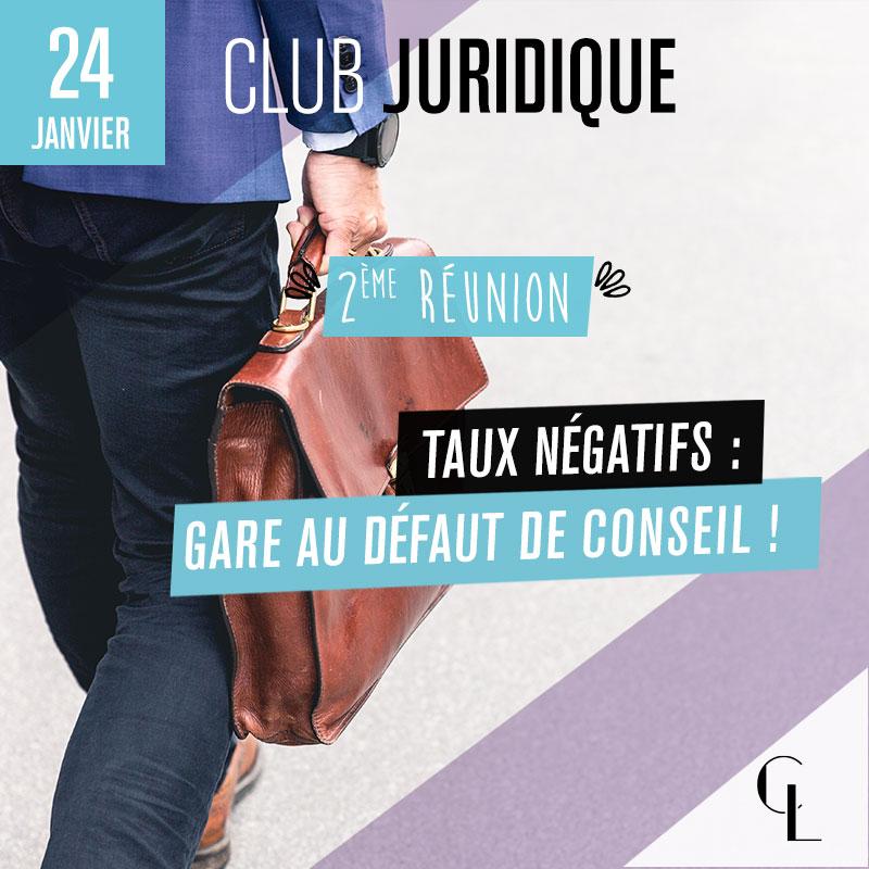 Club Juridique - 2ème réunion